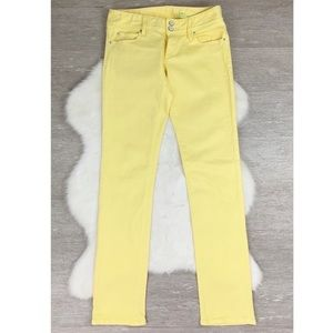 Lilly Pulitzer Straight Leg Jeans Yellow Worth